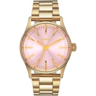 【NIXON】SENTRY 38 SS 極簡復刻化時尚腕錶(A4502360)