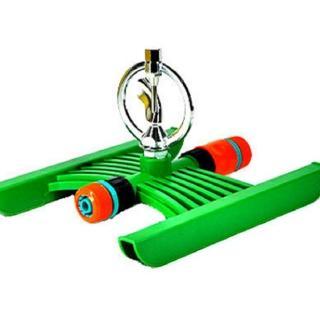 【灑水達人】六分中端鐵環旋轉式噴頭腳架組合套裝2入