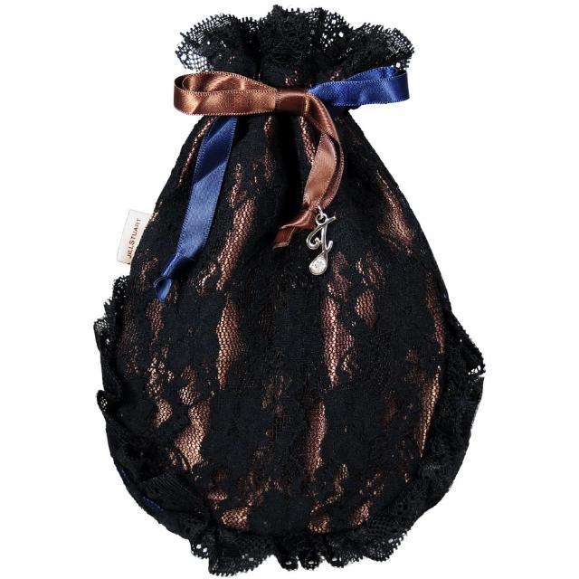 【JILL STUART】雙面女伶蕾絲束口包