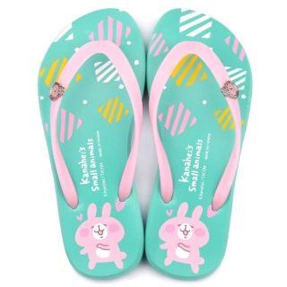 【童鞋城堡】清新風格夾腳拖 卡娜赫拉(KI0507-綠)