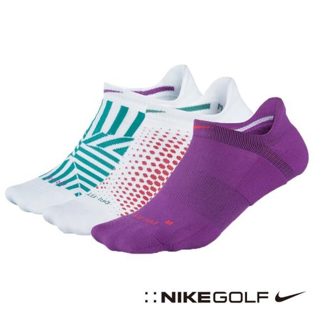 【Nike Golf】運動快乾短襪 3雙組(花色SG0493-136)