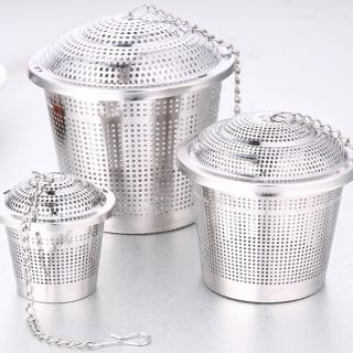 【PUSH!廚房餐具用品】304不銹鋼滷料煲湯茶葉過濾器調味滷包器中號(D78)