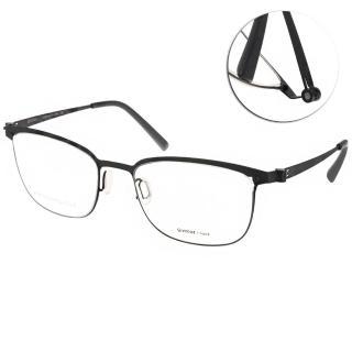 【VYCOZ 光學眼鏡】薄鋼工藝 休閒簡約款(黑#DECK BLK-BLACK)