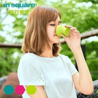 【M Square】摺疊矽膠碗 S(餐盒 碗盤 廚具 便當)