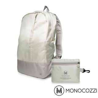 【MONOCOZZI】Lush Foldable Backpack 魔術折疊背包(卡其色)