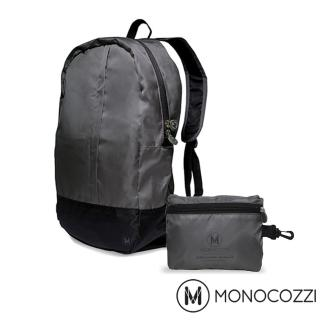 【MONOCOZZI】Lush Foldable Backpack 魔術折疊背包(深灰色)