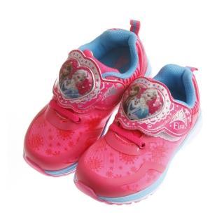 【布布童鞋】Disney冰雪奇緣桃粉色電燈機能運動鞋(BNX333H)