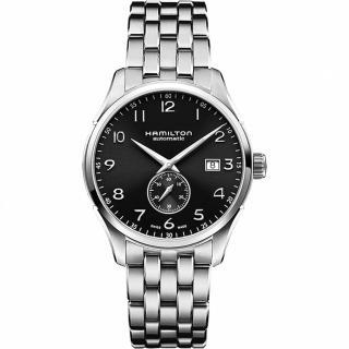 【Hamilton】漢米爾頓 JAZZMASTER 小秒針機械腕錶(H42515135)