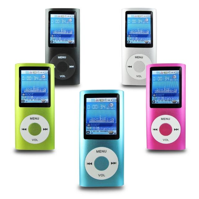 【DW】B1822四代蘋果 插卡式MP4隨身聽 加16GB記憶卡(加送6大好禮)