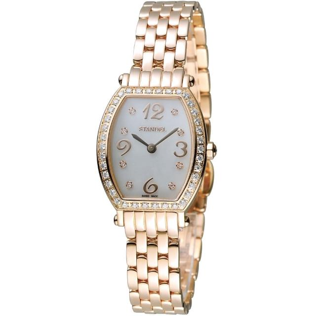 【Standel Luxury】詩丹麗 60週年紀念款 頂級真鑽系列(6S1604-111DRG-WM)