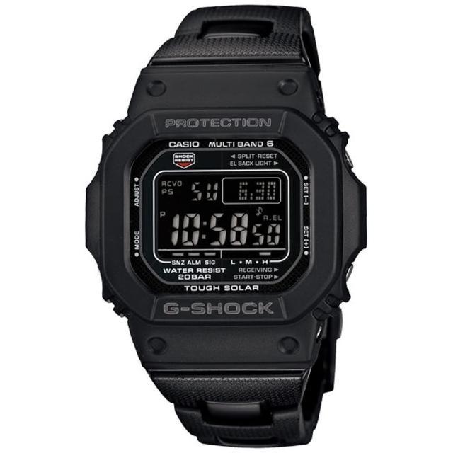 【CASIO】G-SHOCK 高科技經典進化版複合式設計概念電波錶(GW-M5610BC-1)