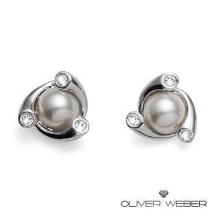 【OLIVER WEBER】奧地利設計師品牌/施華洛世奇水晶-藝文耳環