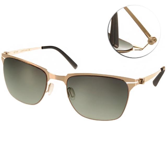 【VYCOZ 太陽眼鏡】薄鋼工藝 個性經典款(金#ZEELER GOL-GOLD)