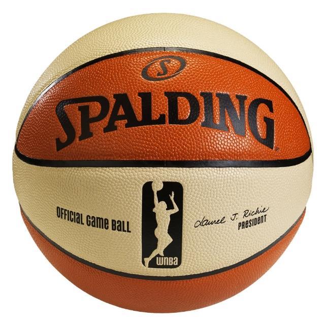 【SPALDING】斯伯丁 WNBA 6片式比賽用球 籃球 6號(美國WNBA女子職業籃賽指定用球)