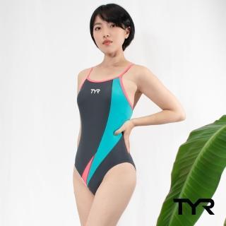 【美國TYR】女用修身款泳裝Genna Flexback Tiffany(台灣總代理)