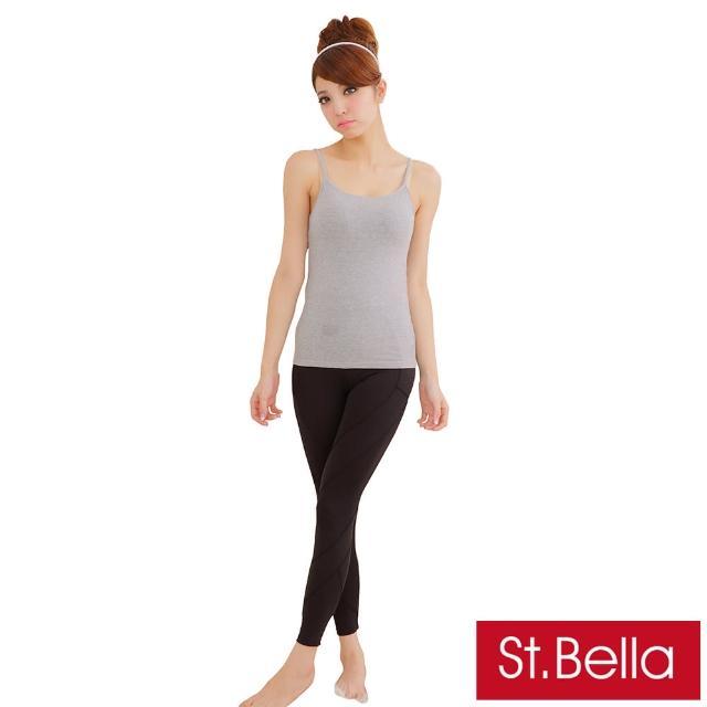 【St.Bella】分段加壓 塑腰 美型褲(爆暖刷毛款)