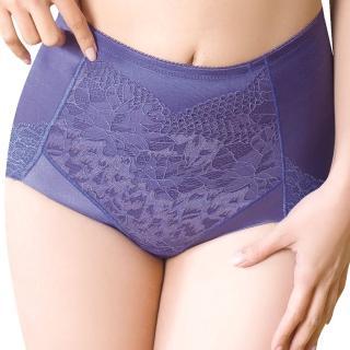 【思薇爾】柔挺美學系列64-82輕機能短筒束褲(楹花紫)