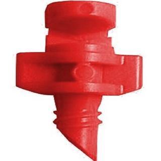 【灑水達人】紅色微霧90度小噴頭一包100個(紅)