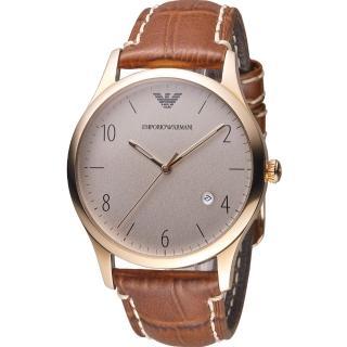 【Emporio Armani】Classic 紳士復刻經典腕錶(AR1866)