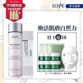 【IOPE 艾諾碧】青春活顏菁粹 168ml(送專用化妝棉 1盒)
