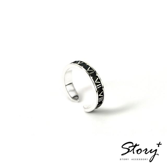 【STORY ACCESSORY】手工客製化精品-填言密語系列 戒指(窄款)