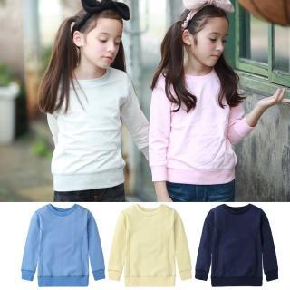 【baby童衣】兒童上衣 顯瘦保暖圓領T恤 50476(共5色)