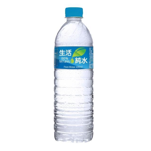 【生活】純水600mlx2箱(共48入)