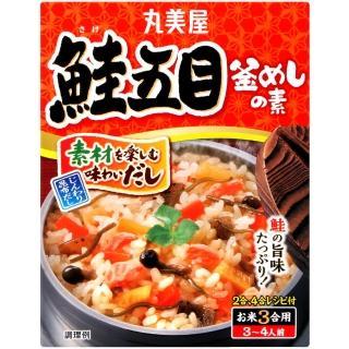 【丸美屋】釜飯料-鮭魚五目(170g)