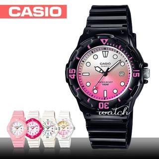 【CASIO 卡西歐】潛水風格-學生/青少年指針錶 鏡面3.4cm(LRW-200H)