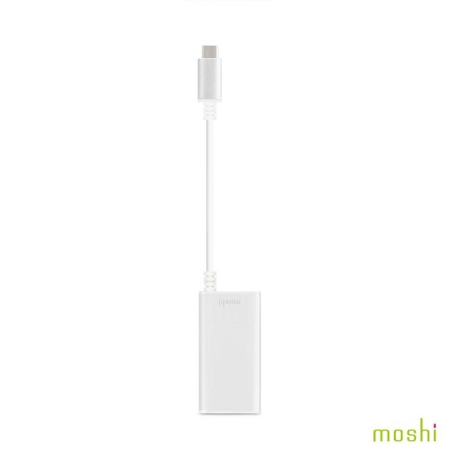 【Moshi】USB-C to Gigabit 乙太網路轉接線