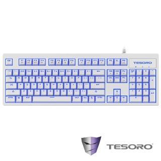 【TESORO鐵修羅】神劍Excalibur V2機械式鍵盤-青軸中文白