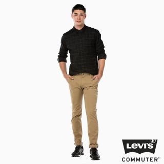 【Levis】511 Commuter修身窄管休閒褲-卡其色