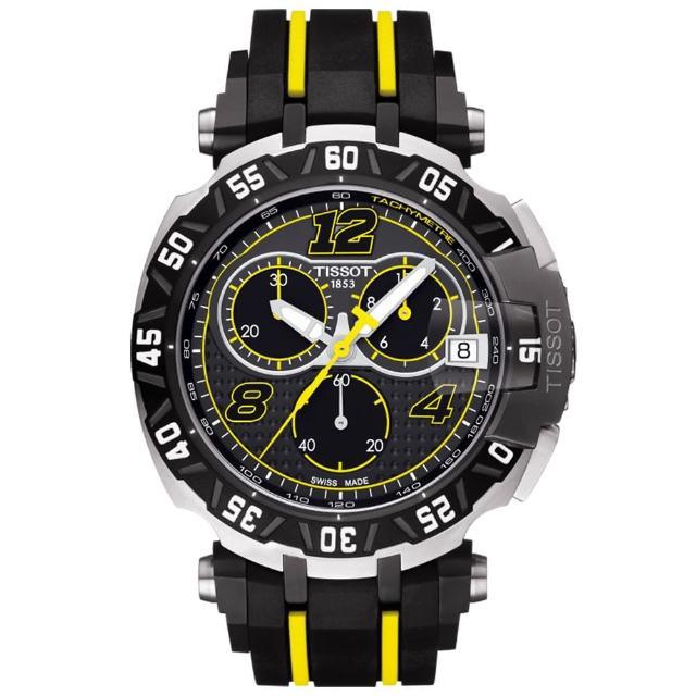 【TISSOT】天梭 T-RACE THOMAS LUTHI 限量計時腕錶-45mm(T0924172706700)