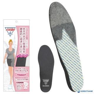 【SORBOTHANE】壽路步 DSIS SORBO 女用步行氣墊鞋墊(SORBO 步行鞋墊)