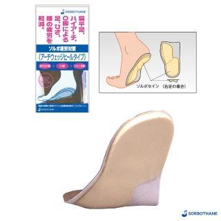 【SORBOTHANE】日本舒宜保 SORBO 抗疲勞弓楔型足跟墊(SORBO 足跟墊)