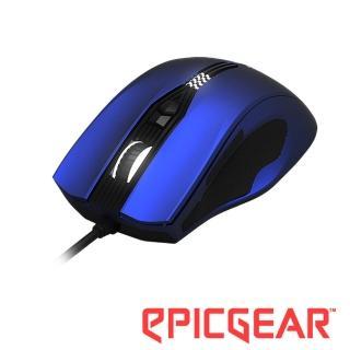 【EPICGEAR】GEKKOTA 雷魔虎雷射電競滑鼠-星辰藍