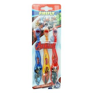 【美國 FIREFLY】AVENGERS兒童牙刷(3入裝)
