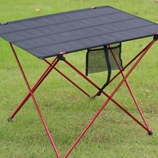 【May Shop】高CP值推薦 超輕便鋁合金摺疊桌(布桌面)