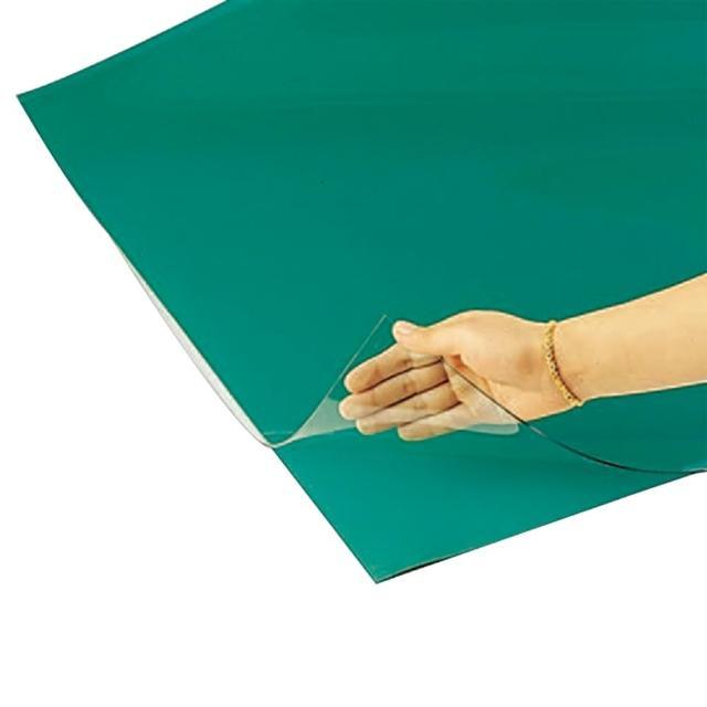 【舒美】單層桌墊/綠透明/長2×寬3尺/片