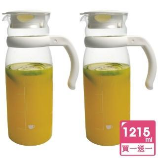 【台灣玻璃】syg 耐熱玻璃冷水壼1215ml(買一送一)