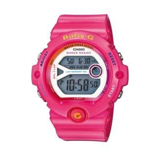 【CASIO BABY-G】華彩繽紛奪目運動腕錶(BG-6903-4BDR)