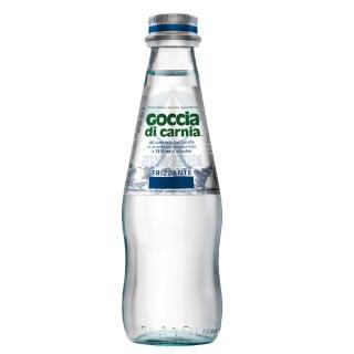 【Goccia di Carnia高地卡尼】天然氣泡礦泉水 250mlx24入 氣泡礦泉水