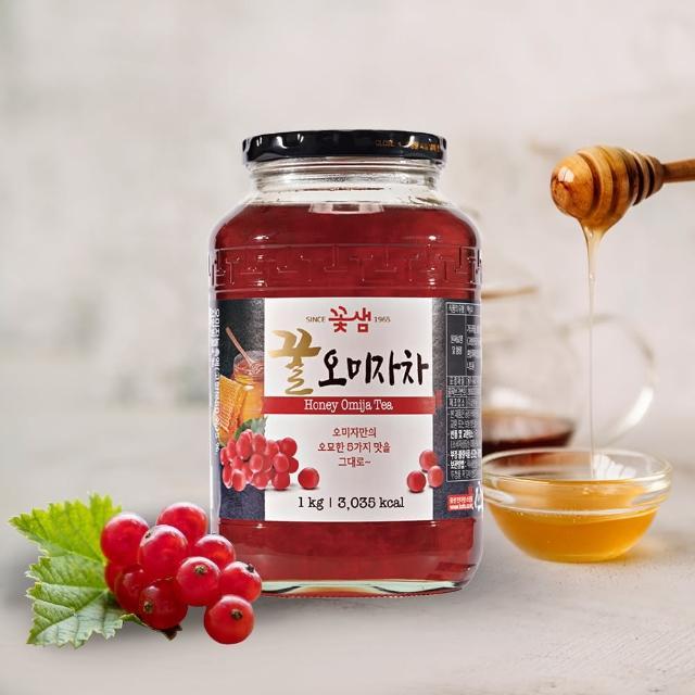 【韓味不二】花泉 蜂蜜五味子茶(1kg)
