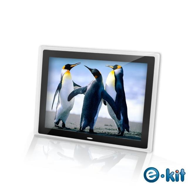 【逸奇e-Kit】15吋相框電子相冊-透明邊框黑色(DF-V801_TB)