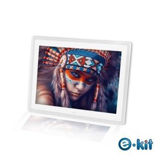 【逸奇e-Kit】15吋相框電子相冊-透明邊框白色(DF-V801_TW)