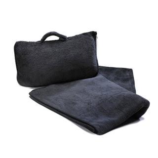 【CABEAU】保暖飛機毯 黑色