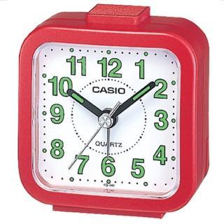 【CASIO】輕巧桌上型鬧鐘(TQ-141-4)