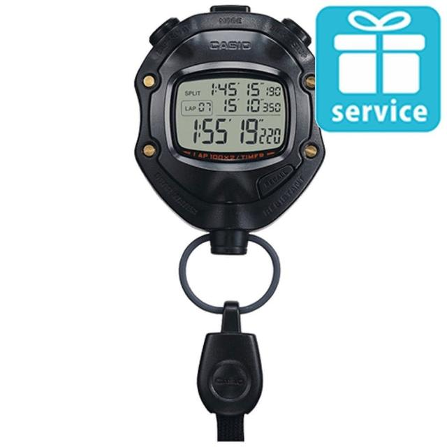 【CASIO】專業計時防水運動碼錶(HS-80TW-1)