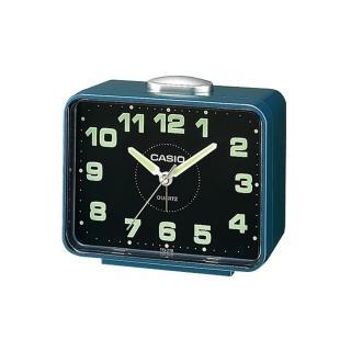 【CASIO】夜間實用桌上型鬧鐘(TQ-218-2)