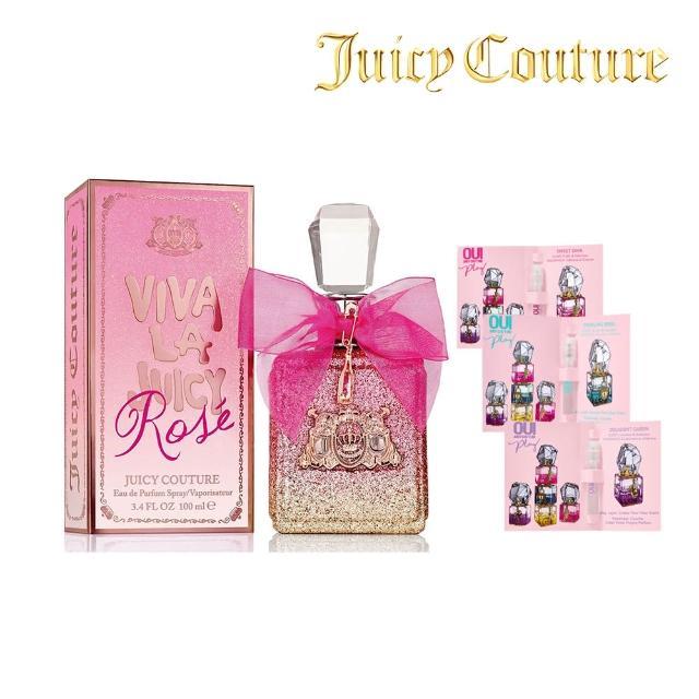 【Juicy Couture】Viva La Juicy Rose玫瑰女性淡香精100ml(新品女香)